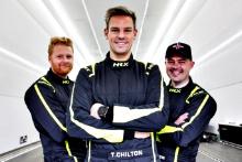 Josh Cook (GBR) - BTC Racing Honda Civic, Tom Chilton (GBR) - BTC Racing Honda Civic, Michael Crees (GBR) - BTC Racing Honda Civic