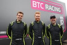 Tom Chilton (GBR) - BTC Racing Honda Civic, Josh Cook (GBR) - BTC Racing Honda Civic, Michael Crees (GBR) - BTC Racing Honda Civic