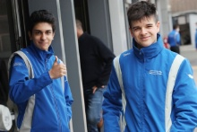 Mathias Zagazeta (PER) - Carlin British F4 and Zak O'Sullivan (GBR) - Carlin British F4
