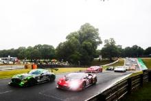 Start of Race 1 - Richard Neary / Sam Neary - Team Abba Racing Mercedes AMG GT3 lead