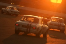 Ford Escort Mk1's in the sunset