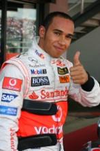 Lewis Hamilton (GBR), McLaren Mercedes British Grand Prix 2007