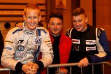Ross Wylie, David Sutton and Sam Morgan