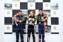 Walter Hayes Trophy Grand Final podium, Matt Cowley, Michael Moyers and Jordan Dempsey