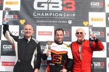 Podium Darwin Smith - Van Diemen RF89 Neil Patten- Van Diemen 89 Trevor Morgan - Raynard FF88