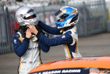 Luke Browning (GBR) Richardson Racing, James Taylor Ginetta Junior