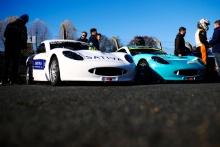 James Hedley (GBR) Elite Motorsport Ginetta Junior and Gus Burton (GBR) Douglas Motorsport Ginetta Junior