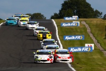 Will Martin / Richardson Racing Ginetta Junior Lorcan Hanafin / Douglas Motorsport Ginetta Junior
