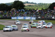 Ginetta Junior Race 3 Start