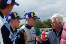 Ginetta Junior Thruxton TV Interviews