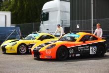 Will Jenkins - Elite Motorsport Ginetta Junior Seb Hopkins - Elite Motorsport Ginetta Junior