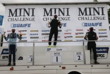Harry Nunn - A Reeve Motorsport MINI Andrew Langley - Norfolk MINI Racing MINI Martin Poole - Martin Poole Racing with Elite Motorsport MINI