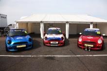 Jonathan Sargeant - EXCELR8 Motorsport MINI - Tom Ovenden - EXCELR8 Motorsport MINI - Matthew Hammond - EXCELR8 Motorsport MINI