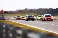 Start - Matthew Hammond - EXCELR8 Motorsport MINI