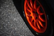 wheel on Goodyear tyres