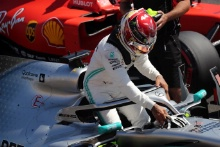 22.06.2019 - Qualifying, Lewis Hamilton (GBR) Mercedes AMG F1 W10 pole position