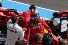 22.06.2019 - Qualifying, Lewis Hamilton (GBR) Mercedes AMG F1 W10 pole position and 3rd place Charles Leclerc (MON) Scuderia Ferrari SF90