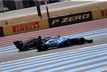 23.06.2019 - Race, Romain Grosjean (FRA) Haas F1 Team VF-19 and Robert Kubica (POL) Williams Racing FW42