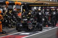 23.06.2019 - Race, Pit stop, Kevin Magnussen (DEN) Haas F1 Team VF-19