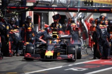 23.06.2019 - Race, Pit stop, Pierre Gasly (FRA) Red Bull Racing RB15