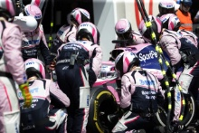 23.06.2019 - Race, Pit stop, Sergio Perez (MEX) Racing Point F1 Team RP19