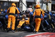 23.06.2019 - Race, Pit stop, Carlos Sainz Jr (ESP) Mclaren F1 Team MCL34
