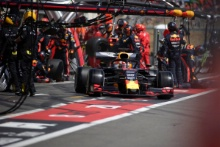 23.06.2019 - Race, Pit stop, Max Verstappen (NED) Red Bull Racing RB15