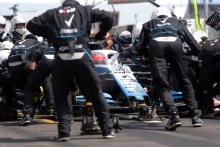 23.06.2019 - Race, Pit stop, Robert Kubica (POL) Williams Racing FW42