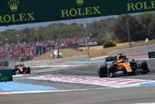 23.06.2019 - Race, Carlos Sainz Jr (ESP) Mclaren F1 Team MCL34 leads Lando Norris (GBR) Mclaren F1 Team MCL34