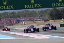 23.06.2019 - Race, Alexander Albon (THA) Scuderia Toro Rosso STR14 and Daniil Kvyat (RUS) Scuderia Toro Rosso STR14
