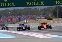 23.06.2019 - Race, Alexander Albon (THA) Scuderia Toro Rosso STR14 and Charles Leclerc (MON) Scuderia Ferrari SF90