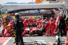 23.06.2019 - Race, Pit stop, Sebastian Vettel (GER) Scuderia Ferrari SF90