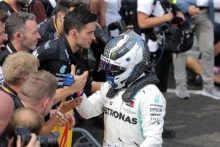 23.06.2019 - Race, 2nd place Valtteri Bottas (FIN) Mercedes AMG F1 W010