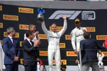 23.06.2019 - Race, 2nd place Valtteri Bottas (FIN) Mercedes AMG F1 W010