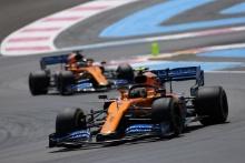 23.06.2019 - Race, Lando Norris (GBR) Mclaren F1 Team MCL34 leads Carlos Sainz Jr (ESP) Mclaren F1 Team MCL34