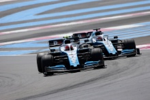23.06.2019 - Race, Robert Kubica (POL) Williams Racing FW42 and George Russell (GBR) Williams Racing FW42