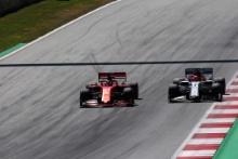 30.06.2019 - Race, Sebastian Vettel (GER) Scuderia Ferrari SF90 and Kimi Raikkonen (FIN) Alfa Romeo Racing C38