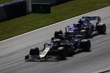 30.06.2019 - Race, Kevin Magnussen (DEN) Haas F1 Team VF-19 and Alexander Albon (THA) Scuderia Toro Rosso STR14