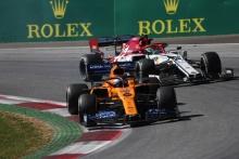 30.06.2019 - Race, Carlos Sainz Jr (ESP) Mclaren F1 Team MCL34 and Antonio Giovinazzi (ITA) Alfa Romeo Racing C38