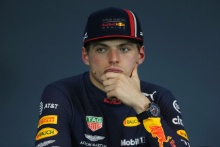30.06.2019 - Race, Press conference, Max Verstappen (NED) Red Bull Racing RB15