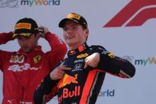 30.06.2019 - Race, Max Verstappen (NED) Red Bull Racing RB15 race winner