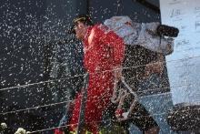 30.06.2019 - Race, 2nd place Charles Leclerc (MON) Scuderia Ferrari SF90