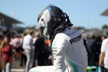 13.10.2019- starting grid,  Valtteri Bottas (FIN) Mercedes AMG F1 W10 EQ Power