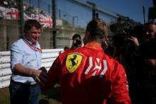 13.10.2019- starting grid, Sebastian Vettel (GER) Scuderia Ferrari SF90