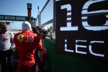 13.10.2019- starting grid,  Charles Leclerc (MON) Scuderia Ferrari SF90