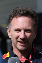 13.10.2019- starting grid, Christian Horner (GBR), Red Bull Racing, Sporting Director