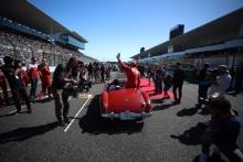 13.10.2019- driver parade, Charles Leclerc (MON) Scuderia Ferrari SF90