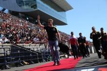 13.10.2019- driver parade, Nico Hulkenberg (GER) Renault Sport F1 Team RS19