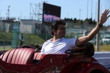 13.10.2019- driver parade, Carlos Sainz Jr (ESP) Mclaren F1 Team MCL34