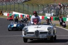 13.10.2019- driver parade, Antonio Giovinazzi (ITA) Alfa Romeo Racing C38